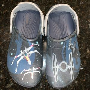 Kids Star Wars Crocs, size J1